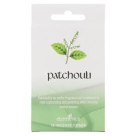 Wierook Kegels - Patchouli