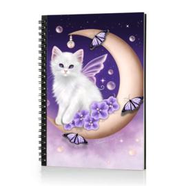 Spiraal Notitieboek 3D - Twilight Moon Pearls