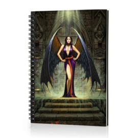 Spiraal Notitieboek 3D - Dark Angel