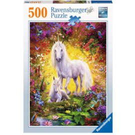 Puzzel 500 - Unicorn And Foal