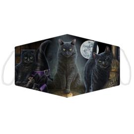 Mondkapje - Halloween Cats