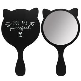 Handspiegel - Zwarte Kat