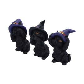 Beeld - Three Wise Familiars 9.2cm