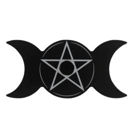 Kaarsenhouder - Triple Moon