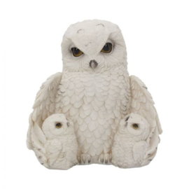 Beeld - Feathered Family 21.5cm