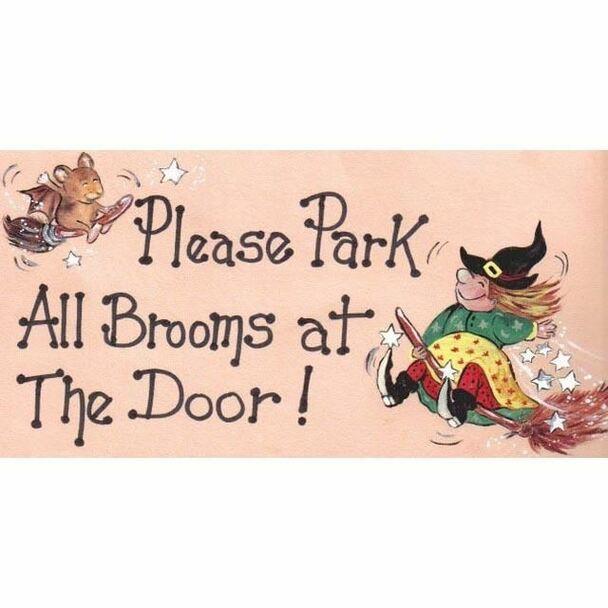 Magneetje - Please Park Brooms At The Door