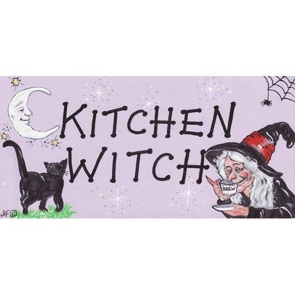 Magneetje - Kitchen Witch