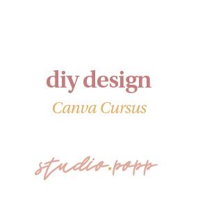 DIY DESIGN MET CANVA