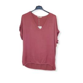 T-Shirt Pepper Rose Size V-Hals
