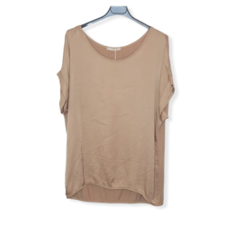 T-Shirt Beige One Size