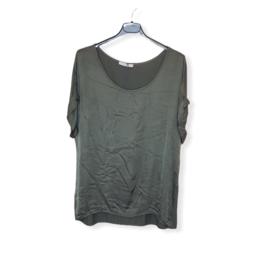 T-Shirt legergroen One Size