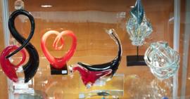 Glassculpturen