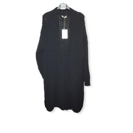 Vest zwart One Size