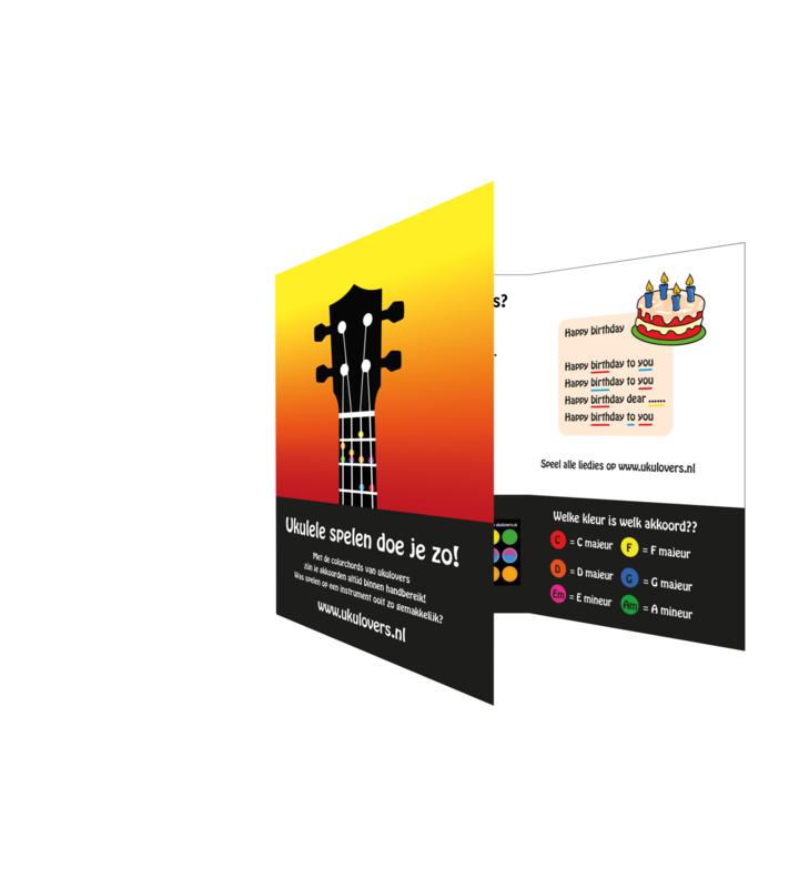 Colorchords voor de ukulele