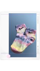 Tie dye | sokken - golden hour