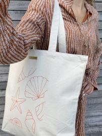 Tote Shopper CLRS   Seashells