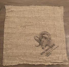 Ram shabby doek 45/45 cm