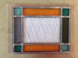 Foto's workshop Glas in Lood