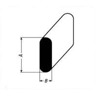 Inlegstaal 1 mm x 3,6 mm