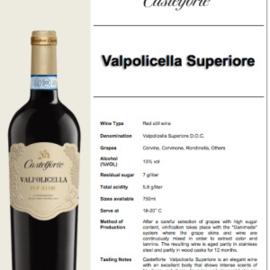 Castelforte Valpolicella Superiore 2017