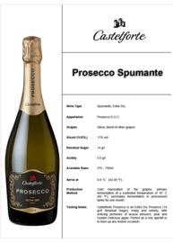 Castelforte Prosecco DOC 0.37 ML