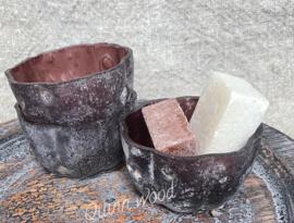 Amberglaasje bruin
