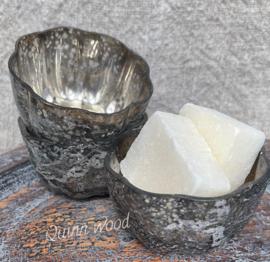 Amberglaasje zilver