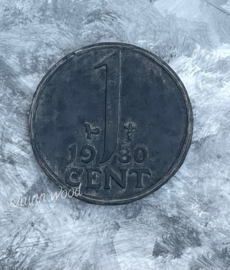 Wanddecoratie cent
