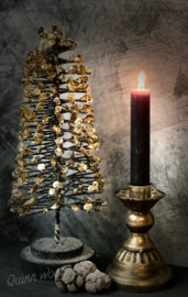 Kerstboom gouden pailletten