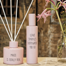 Huisspray: Leave sparkles everywhere you go