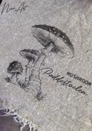Shabby doek Mushroom