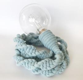 LAMP TINE  XL - LICHTBLAUW