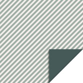 KADOZAKJES- STRIPES MINT BLUE (10 stuks)