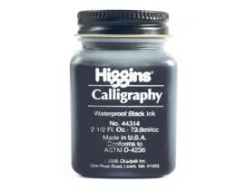Higgins Kalligrafie Inkt - Zwart 73,9ml