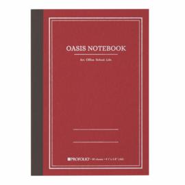 ProFolio® Oasis Notebook Brick, A6 = 10,5 x 14,8cm