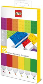 Lego set van 12 Markers