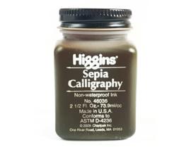 Higgins Kalligrafie Inkt - Sepia  73,9ml
