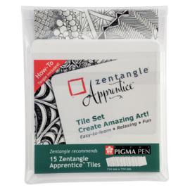 Zentangle Apprentice Tile Set