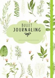Bullet Journal - Green Leaves
