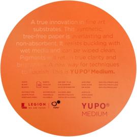 Legion Yupo Medium Paper Round Pad ø 20.32cm