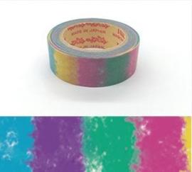 "Rink Washi Tape  - Watercolored Design - ""Block"""