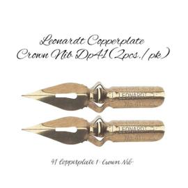 Hiro Leonardt Copperplate  Nib Crown DP41 - Set van 2