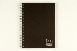 A5 Doodle / Tekenblok 70 Vel 120g/m² Blanco Wit Papier. Omslag Zwart