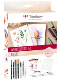 Tombow Watercoloring Set -  Nature