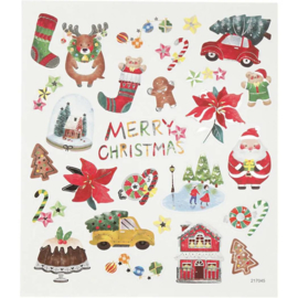 Stickervel Kerst No. 2