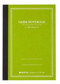 ProFolio® Oasis Notebook Avocado, A6 = 10,5 x 14,8cm