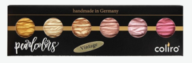 "Finetec / Coliro 6 Pearlcolors Set ""Vintage"""