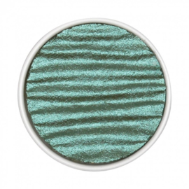 Pearlcolor Waterverf Napje Blue Green  (Shimmer) Ø 30mm