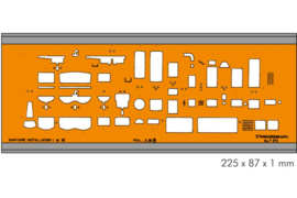 Architect Sanitair 1:50 Sjabloon  I # 7373