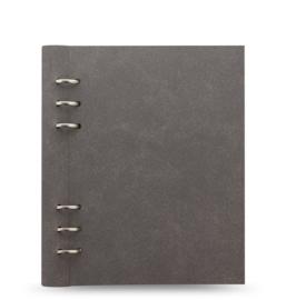 Filofax Clipbook A5   Architexture Concrete + Extra 50 vel Wit Dotted Papier